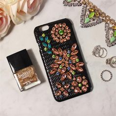 Classy Black Apple Iphone Cases&Covers With Genuine Leather Bling Bling Czech Crystal/Diamond Super Elegant Women Mobile Phone Parts Cell Phone Parts From Yamazhouzhe, $30.37| Dhgate.Com