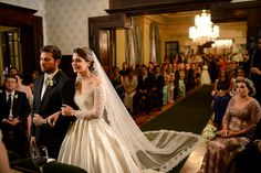 Cerimônia de casamento no Castelo do Batel