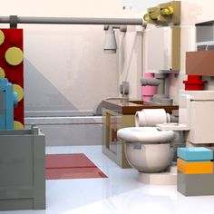 LEGO IDEAS - Steven Universe's Beach House Lego Steven Universe, Build My Own House, Lego House, Lego Ideas, Beach House, House Ideas, Projects, Lego Home, Beach Homes