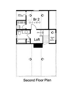 Plan #312-619 - Houseplans.com