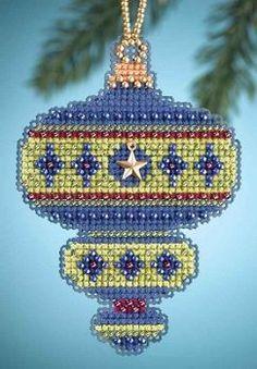 Mill Hill Christmas Jewels Charmed Ornaments - Peridot – Stoney Creek Online Store