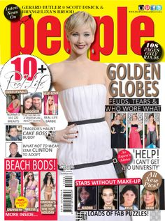 NEW #peopleSA out now! Read ALL about the #GoldenGlobes, #Jlaw red carpet #fashion and more! www.peoplemagazine.co.za