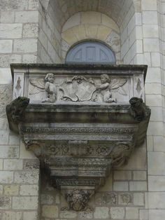 Tours, France – Archevêché, « Balcon de l'officialité »