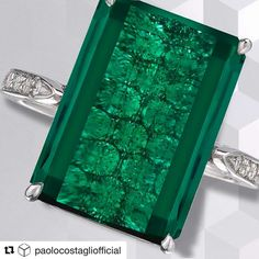 This Indicolite ring by Paolo Costagli @paolocostagliofficial.