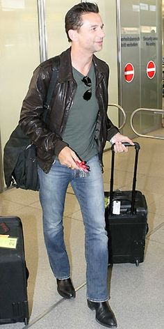 Dave at the airport