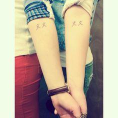 Native American Sister Symbol Tattoo Matching native american