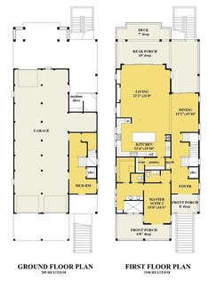 The Shearwater is offered by SDC House Plans. View more Coastal House Plans on the SDC website. Beach House Floor Plans, Coastal House Plans, Modern House Plans, Coastal Homes, Beach Homes, Lake Homes, Beautiful Beach Houses, Dream Beach Houses, Beach House Furniture