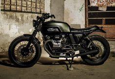 ϟ Hell Kustom ϟ: Moto Guzzi V7 Classic By Macco Motors
