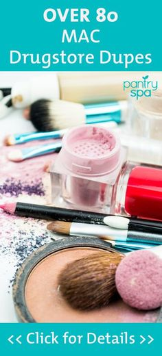 A MAC makeup pod could cost you $16, while a Covergirl doppleganger only $6. Get the complete MAC Swaps List here and start saving money on cosmetics. Beauty DIY, save money on beauty