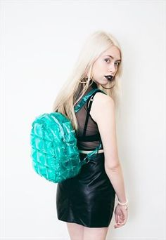 Blow Up Bubble Backpack £15.00