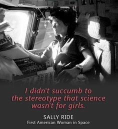 On June 18, 1983, a young physicist from California took her seat aboard the space shuttle and launched into history. On that date, Sally Ride became the first American woman in space as a mission specialist on STS-7. #WomensHistoryMonth