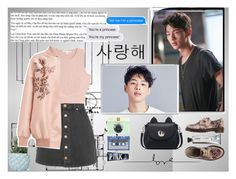 """""""Rendez-Vous with Ji Soo (With song in description)"""" by betulkizilirmaak ❤ liked on Polyvore featuring Glamorous, Jonathan Simkhai, Chen Chen & Kai Williams, Dr. Martens, STELLA McCARTNEY, F, L:A Bruket, Bomedo and White Label"""