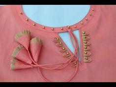 Churidhar Neck Designs, Salwar Neck Designs, Neck Designs For Suits, Kurta Neck Design, Neckline Designs, Sleeves Designs For Dresses, Fancy Blouse Designs, Stylish Dress Designs, Blouse Neck Designs