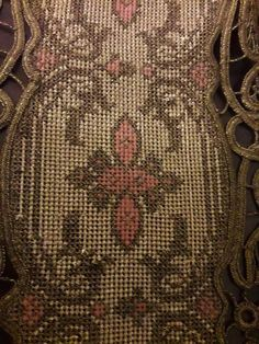 Gallery.ru / Фото #80 - μετρητα - ergoxeiro Beaded Embroidery, Cross Stitch Embroidery, Cross Stitch Patterns, Point Lace, Bargello, Diy And Crafts, Reusable Tote Bags, Beaded Bracelets, Crochet