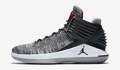 3c1a1b77e3a8 Nike Air Jordan 32 Black Cement Black University Red White Cement Grey  Basketball Shoe For Sale Big Boys Youth Jeunesse Shoes