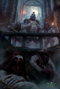 Daniel Valaisis is an artist at CD Projekt Red, the developers of The Witcher and Cyberpunk Fantasy Dwarf, Fantasy Warrior, Medieval Fantasy, Fantasy Concept Art, Fantasy Artwork, Dungeons And Dragons, Goblin Art, The Witcher Books, Dnd Races