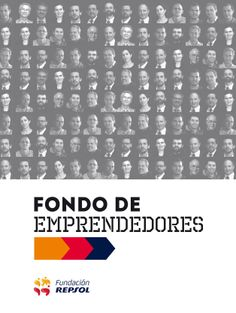 Folleto Fondo de Emprendedores de Repsol.