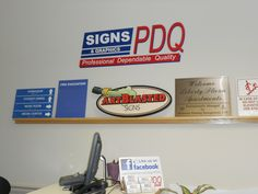 Signs PDQ can work with you on your next ADA Braille project