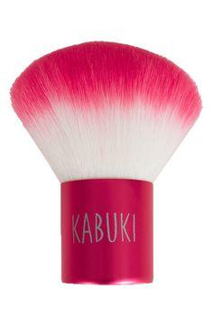 Not your typical kabuki brush