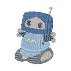 Robot Freebie Free Machine Embroidery Designs, Embroidery Applique, Boy Character, Iconic Characters, Pretty Baby, Animals For Kids, Boy Birthday, Appliques, Cute Kids