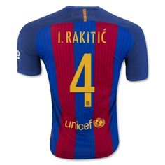 Barcelona 16-17 Ivan Rakitic 4 Hjemmebanetrøje Kortærmet.  http://www.fodboldsports.com/barcelona-16-17-ivan-rakitic-4-hjemmebanetroje-kortermet.  #fodboldtrøjer