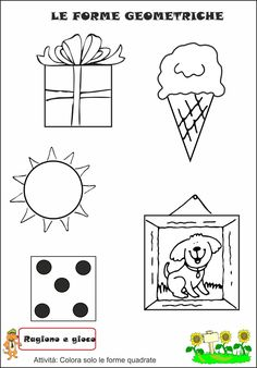 Kids Education, Filofax, Pre School, Montessori, Kindergarten, Printables, Shapes, Teaching, Crafts