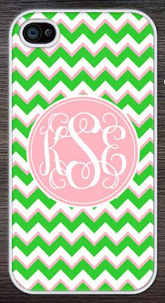 Chic Personalized iPhone Case ($15.95) created by Artists at Chic Monograms.