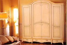 Wardrobe with 4 doors for bedrooms