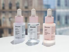 Glossier's New Serums Are Basically Magic Potions to Transform Your Skin...I need these in my life