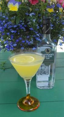Sunshine Days : Shake with ice 2oz (Hayman's Old Tom) gin, 3/4oz lime juice, 3/4oz orange juice, 1/2oz Limoncello, 1/2oz simple syrup. Strain into chilled glass; add splash of club soda. Float lemon slice on top. -- [XO]