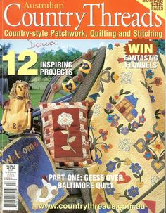 pages and pats geese over baltimore 1 - Picasa Albums Web Sewing Magazines, Magazine Crafts, Patch Aplique, Country Quilts, Picasa Web Albums, Applique Fabric, Book Quilt, Patchwork Bags, Book Crafts