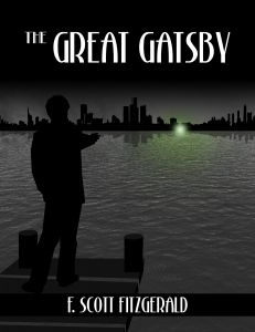 """""""He stretched out his arms toward the dark water in a curious way, and, far as I was from him, I could have sworn he was trembling. Involuntarily I glanced seaward—and distinguished nothing except a single green light, minute and far away, that might have been the end of a dock. When I looked once more for Gatsby he had vanished, and I was alone again in the unquiet darkness."""" F. Scott Fitzgerald"""