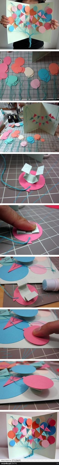 Awesome birthday card! omg i must do this for one of my bff! she will love it! Birthday gifts #birthdaygifts