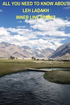 Are you planning to visit Leh Ladakh in India? You really should check about Inner Line Permit here.