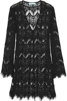 { lace coverup }