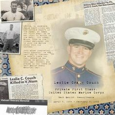 Memorial Day Digital Scrapbooking Layout from Creative Memories