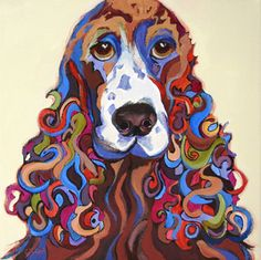 Carolee Clark creates the most fun paintings of animals. Check out her art at https://caroleeclark.wordpress.com/