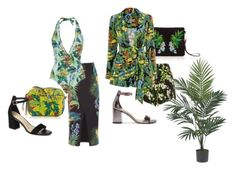 """""""Oasis Inspired Tropical Looks"""" by prshotsonline ❤ liked on Polyvore featuring Nearly Natural"""