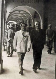 """""""Shopping in Corso Zanardelli"""" - 1933 http://www.bresciavintage.it/brescia-antica/storie-di-persone/shopping-corso-zanardelli-1933/"""