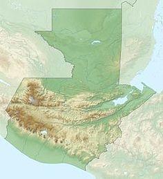 Parque nacional Cerro Miramundo ubicada en Guatemala