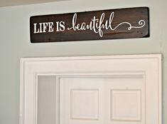 Life is beautiful || Aimee Weaver Designs