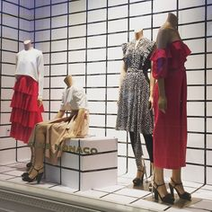 "CLUB MONACO, Square One Shopping Centre, Mississauga, Ontario, Canada, ""Express Yourself Through Fashion"", photo by Heather Logan, pinned by Ton van der Veer"