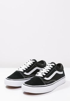 OLD SKOOL - Skate shoes - black   Zalando.co.uk 🛒 7c4c65a6d36