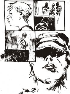 Wood , Ashley - Page for Metal Gear Solid (2) Comic Art
