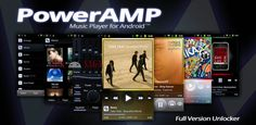 Download Poweramp Music Player: 2.0is the next major release and a free update for everyone, who purchased PowerAMP Full Version Unlocker. IMPORTANT: PowerAMP v2.0 has completely independent Library i...