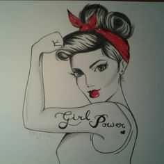 My independent woman drawing ♥