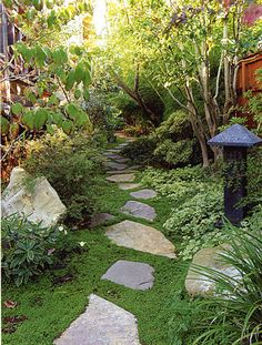 Landscape Narrow Side Courtyard Design, Pictures, Remodel, Decor and Ideas - page 53