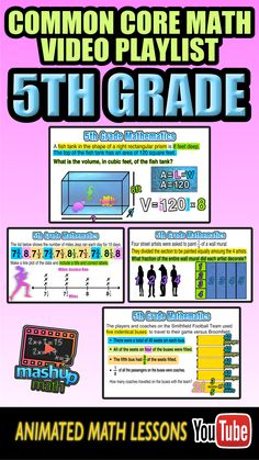 Need some help with 5th grade common core math? Check out our short animated lesson on graphing a linear function. For more 5th grade math lessons, check out MashUp Math on YoutTube and be sure to subscribe--we add new lessons every week!