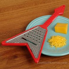 Guitar Cheese Shredder Grater