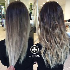 Are you going to balayage hair for the first time and know nothing about this technique? We've gathered everything you need to know about balayage, check! Ash Brown Hair Color, Brown Ombre Hair, Brown Hair Balayage, Brown Blonde Hair, Ombre Hair Color, Hair Color Balayage, Blonde Ombre, Baylage Brunette, Haircolor